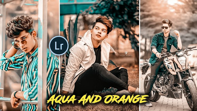 Aqua And orange Presets Free Download