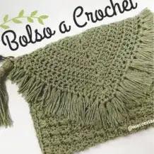 Bolso Sobre a Crochet