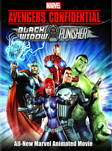 Avengers Los Archivos Secretos Black Widow Y Punisher DVDRip Latino