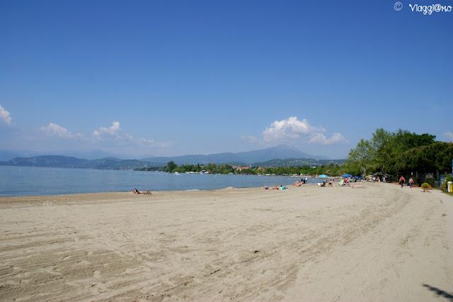 Spiaggetta sul Lago di Garda di Lazise