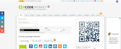 موقع QRcode-monkey