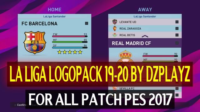 PES2017 La Liga Logo Pack 19-20 by DZPLAYZ