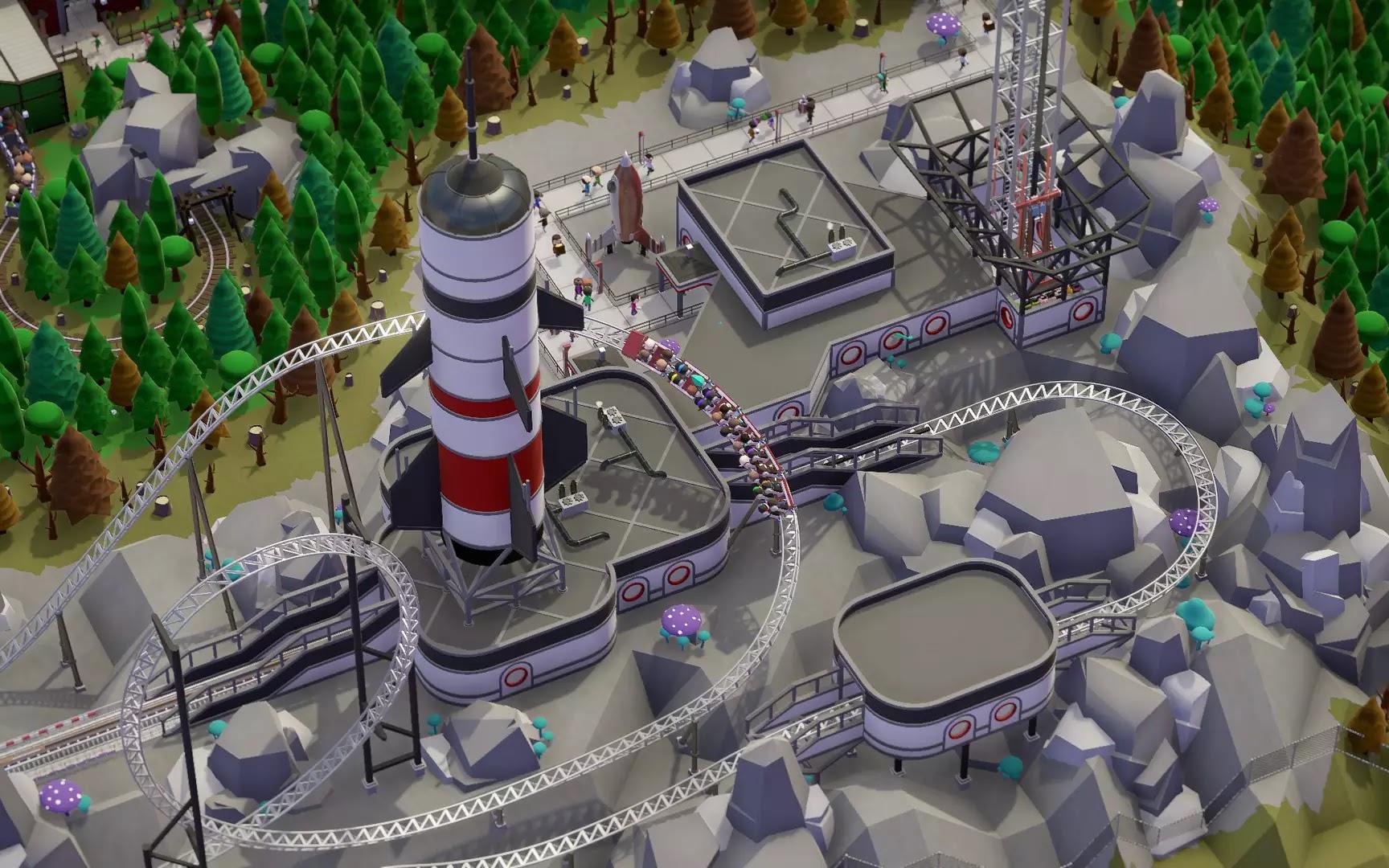 Parkitect game screenshots