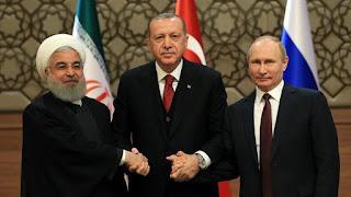 مسؤول تركي يعلن عن اجتماع تركي روسي إيراني بشأن إدلب