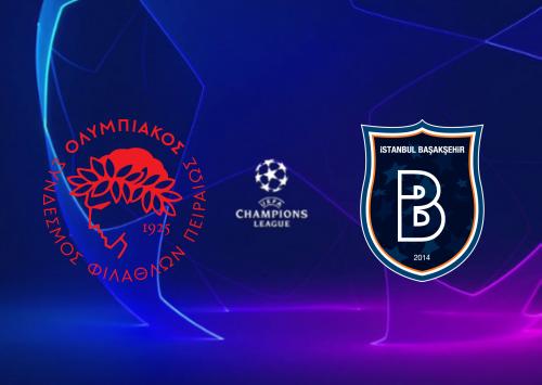 Olympiakos Piraeus vs İstanbul Başakşehir -Highlights 13 August 2019