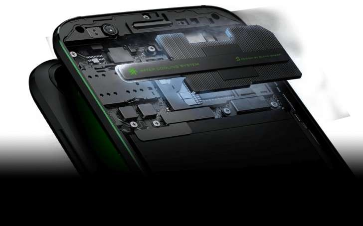 Xiaomi Black Shark Liquid Cooling System