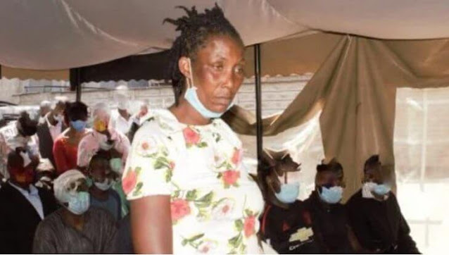 Lucy Njeri the woman who washed her husband with acid on his face. FILE