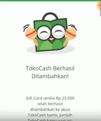 Bukti Pembayaran dari Aplikasi Licorice Android