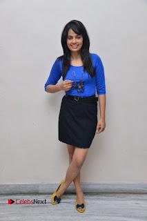Actress Nandita Swetha Stills in Black Mini Skirt at Ekkadiki Potavu Chinnavada Movie Special Show  0059.JPG