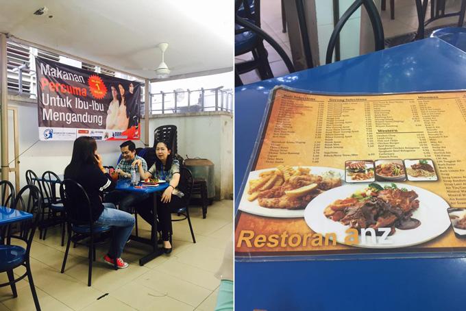 Promosi Makanan Percuma Untuk Ibu Mengandung di Anz Restoran