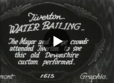 Tiverton Water Bailing in 1926