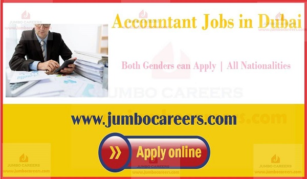 Show all new jobs in Duabi, Dubai accountant job openings,