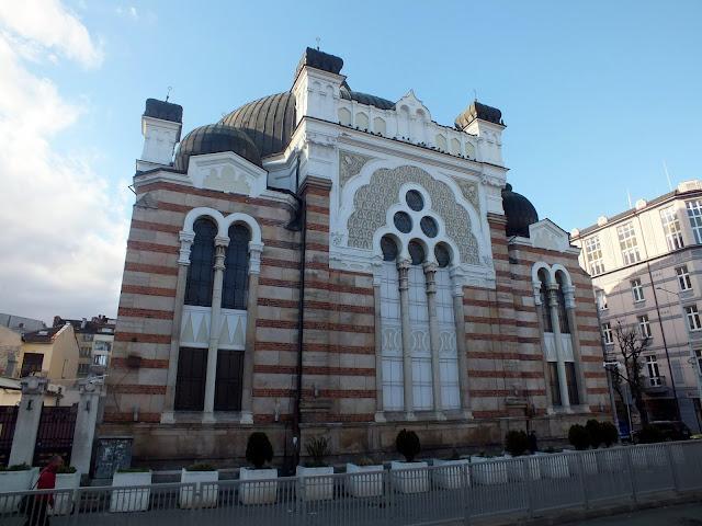 visitar sinagoga de Sofia en Bulgaria
