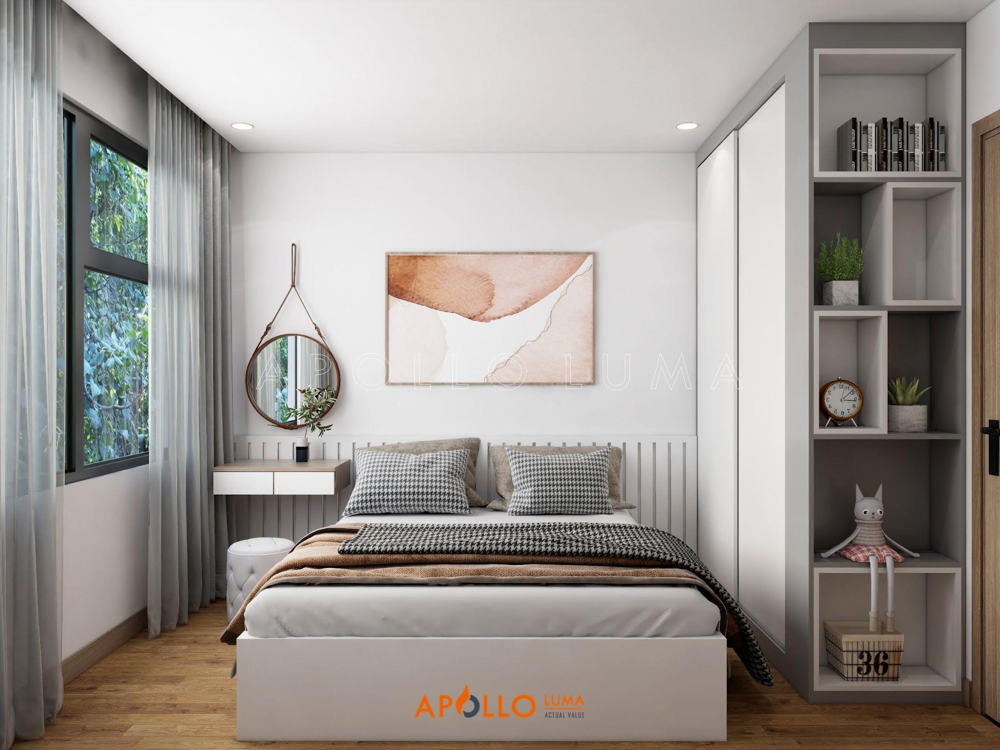 Thiết kế nội thất căn hộ 1PN+1 Vinhomes Ocean Park