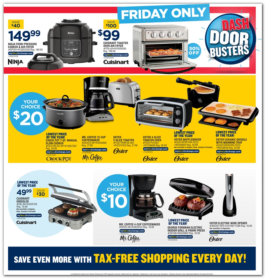 Navy Exchange Black Friday 2019 page 16