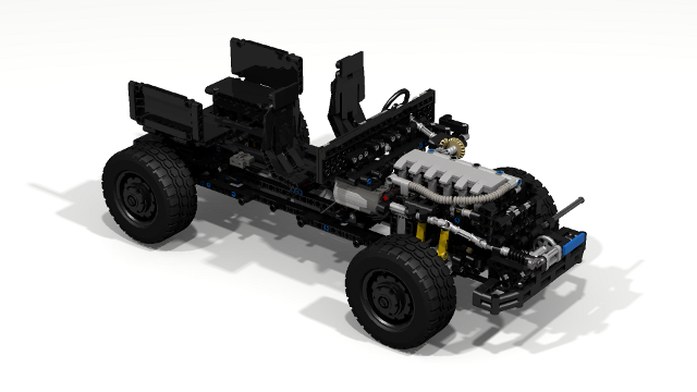 Filsawgood Lego Technic Creations Gaz Tiger Spm 2 Building