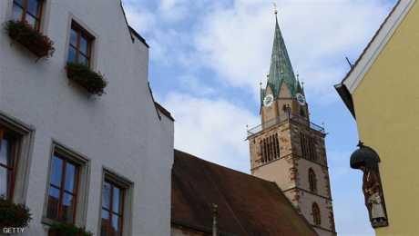 افتتاح مسجد فى الطابق الثالث من كنيسة قديمة فى المانيا