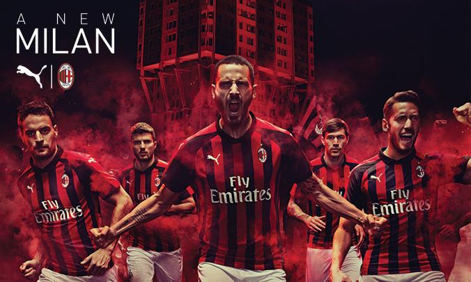 Inizia l'era Puma Milan : ecco il nuovo home kit Sport