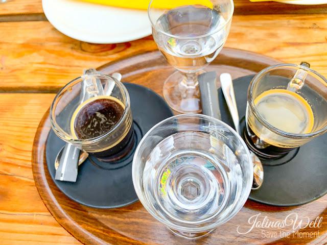 Espresso im Restaurant Achter´t Holt Damp