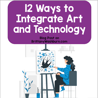 Art and technology...it's a beautiful combo. Check out some ways you can use technology to create art in your classroom. Here are tips, tools, and resources for creating art with technology.