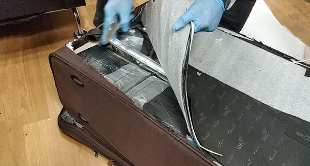 58-years old Albanian coming from Sao Paulo with 10 kg of cocaine, arrested at Ataturk Airport
