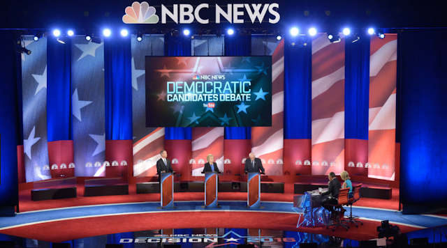 NBC announces five moderators for first Democratic debate