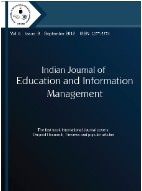 Indian Journal of Education & Information Management