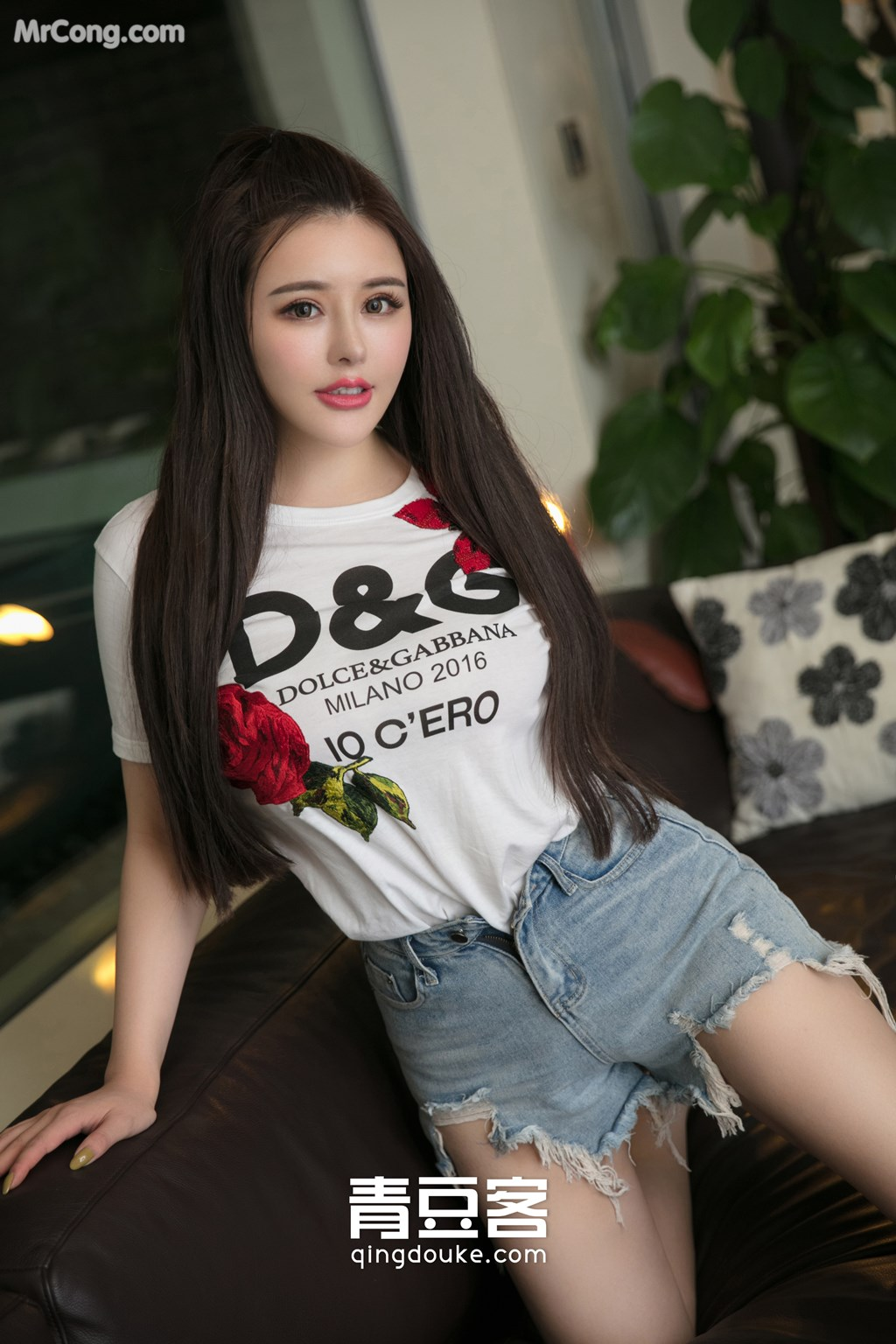 Image QingDouKe-2017-11-18-Jin-Baby-MrCong.com-003 in post QingDouKe 2017-11-18: Người mẫu Jin Baby (金baby) (49 ảnh)