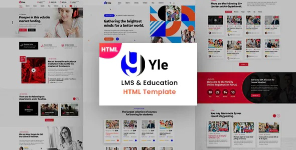 Best Education and LMS HTML Template