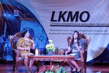 Santy Sastra, Narasumber LKMO Tahun 2020 BEM Universitas Warmadewa