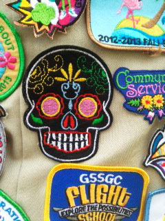 Lake Elsinore Girl Scouts DOD 2016 Badge