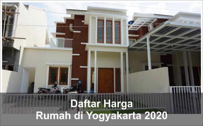 daftar harga rumah yogyakarta