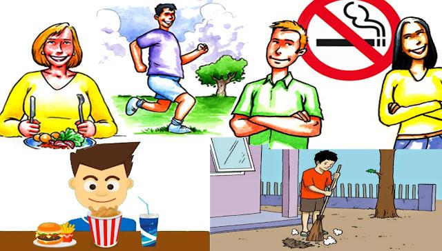 Hidup yang baik penuh disiplin dan makan teratur merupakan dasar dari pola