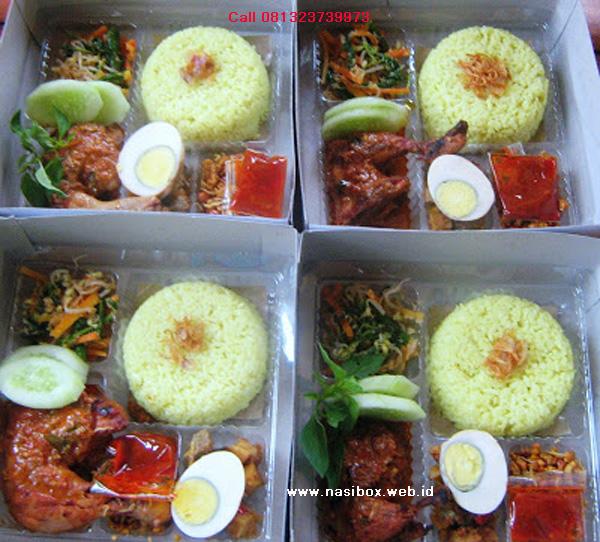 Nasi box untuk acara 4 bulanan di ciwidey