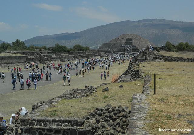 Avenida dos Mortos de Teotihuacán, México