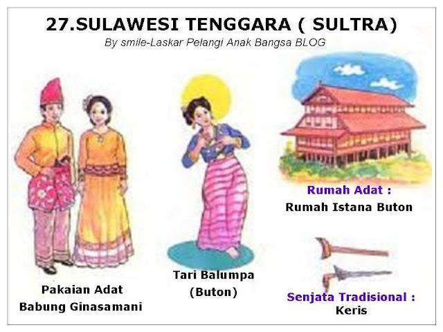 Pakaian Adat Sulawesi Tenggara Beserta Penjelasannya ( Artikel Lengkap)