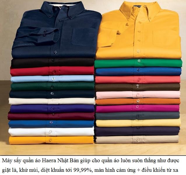 Máy sấy quần áo Haera SHD2707 (UV) Nhật Bản