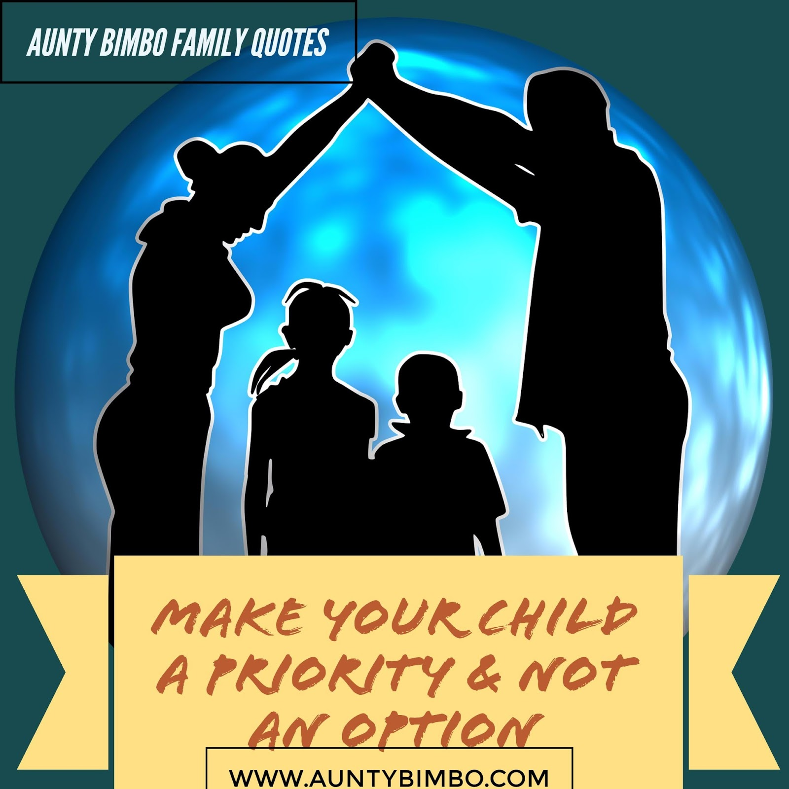 Family Affirmations With Aunty Bimbo,I Make My Child A Priority U0026 Not An  Option