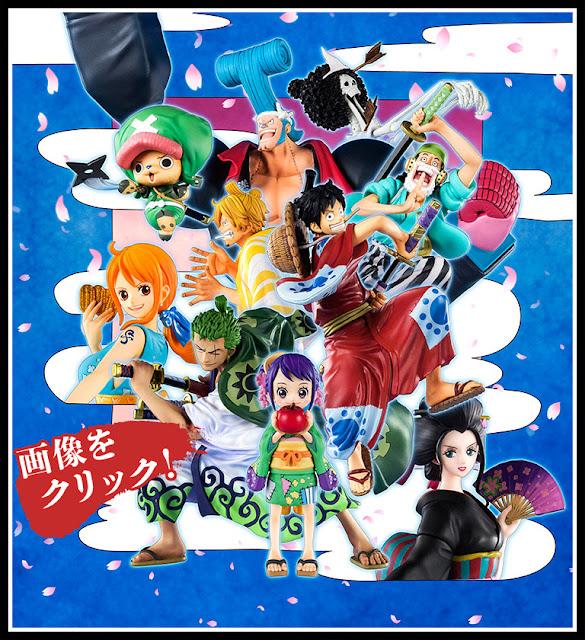 Figuras: Tamashii Nations lanza la composición del tomo 91 de One Piece con sus Figuarts Zero