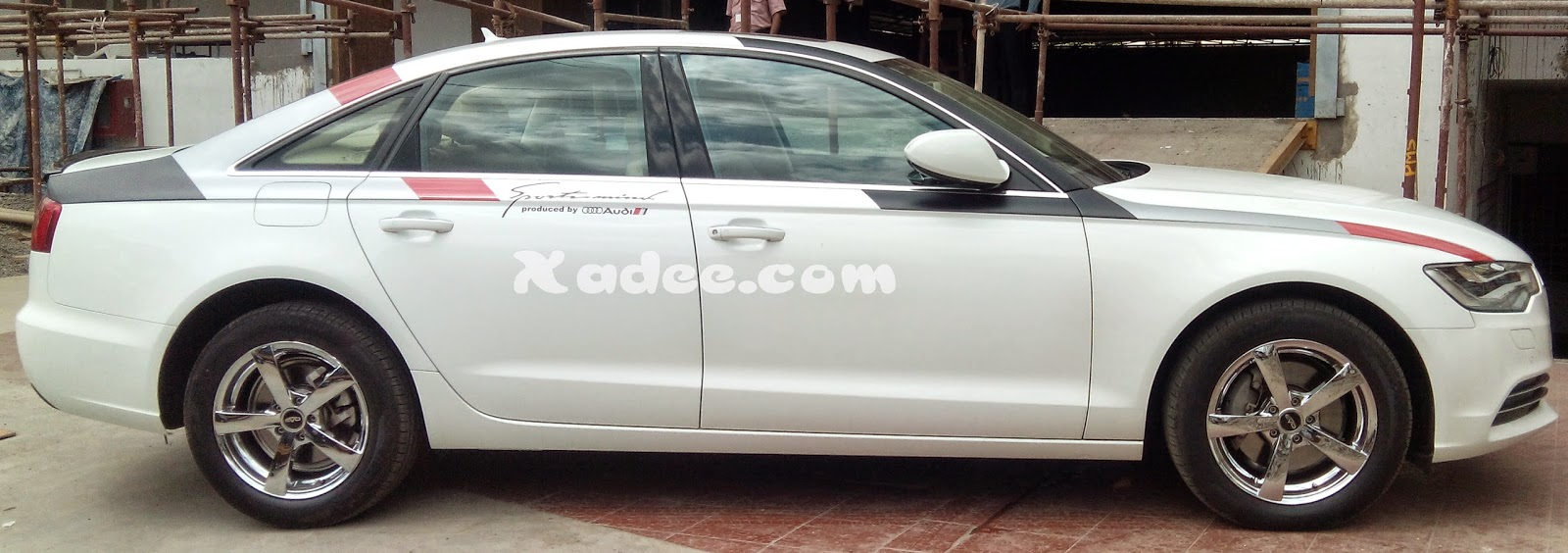 Stickering designs for audi a6