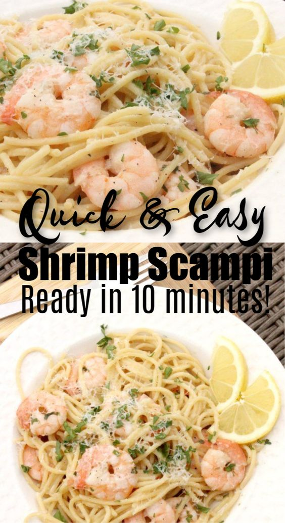 QUICK AND EASY LEMON GARLIC SHRIMP SCAMPI RECIPE #recipes #pastarecipes #easypastarecipes #food #foodporn #healthy #yummy #instafood #foodie #delicious #dinner #breakfast #dessert #lunch #vegan #cake #eatclean #homemade #diet #healthyfood #cleaneating #foodstagram