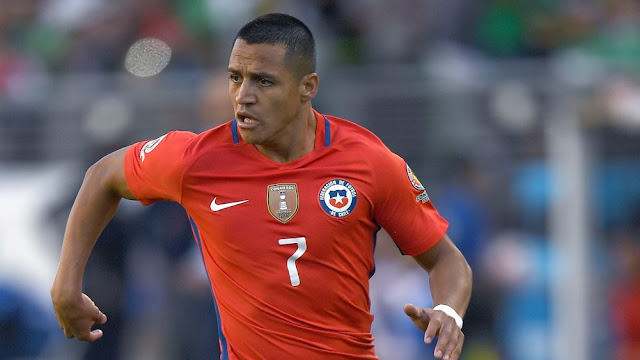 Alexis Sanchez requests to leave Chile national team over Manchester City move