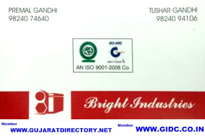 BRIGHT INDUSTRIES - 9824074640 9824024492 9824094106
