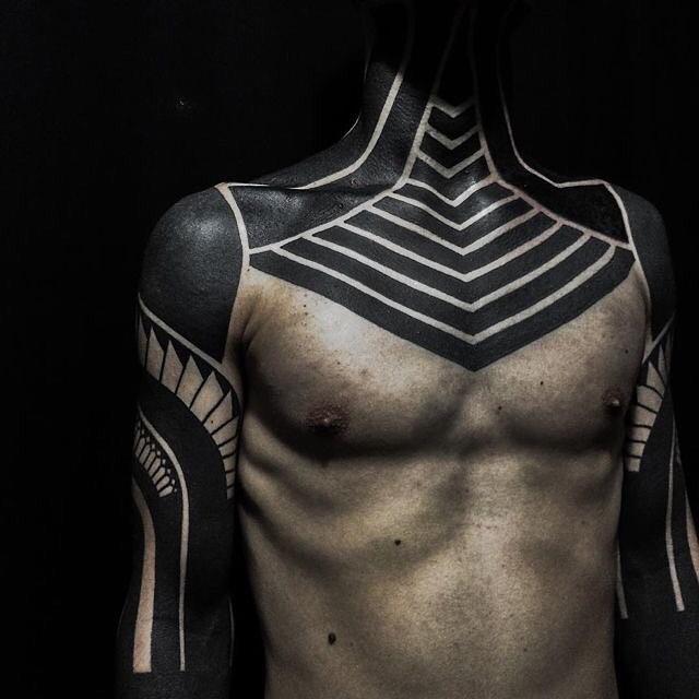 Tatuagens Black Work
