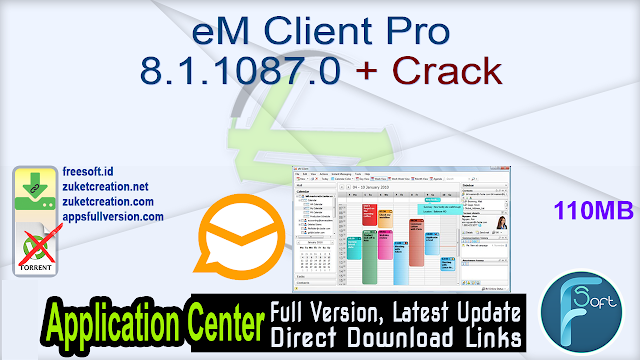 eM Client Pro 8.1.1087.0 + Crack