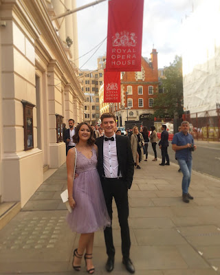 What I wore to the ballet at the Royal Opera House, London