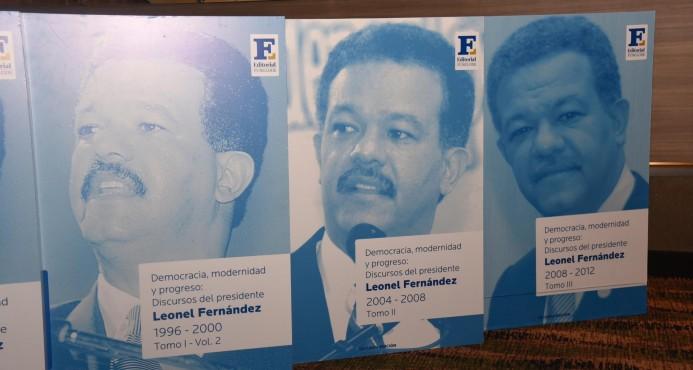 Leonel Fernández pondrá a circular en Santiago colección de discursos políticos