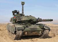 Modernize edilmiş bir Türk tankı