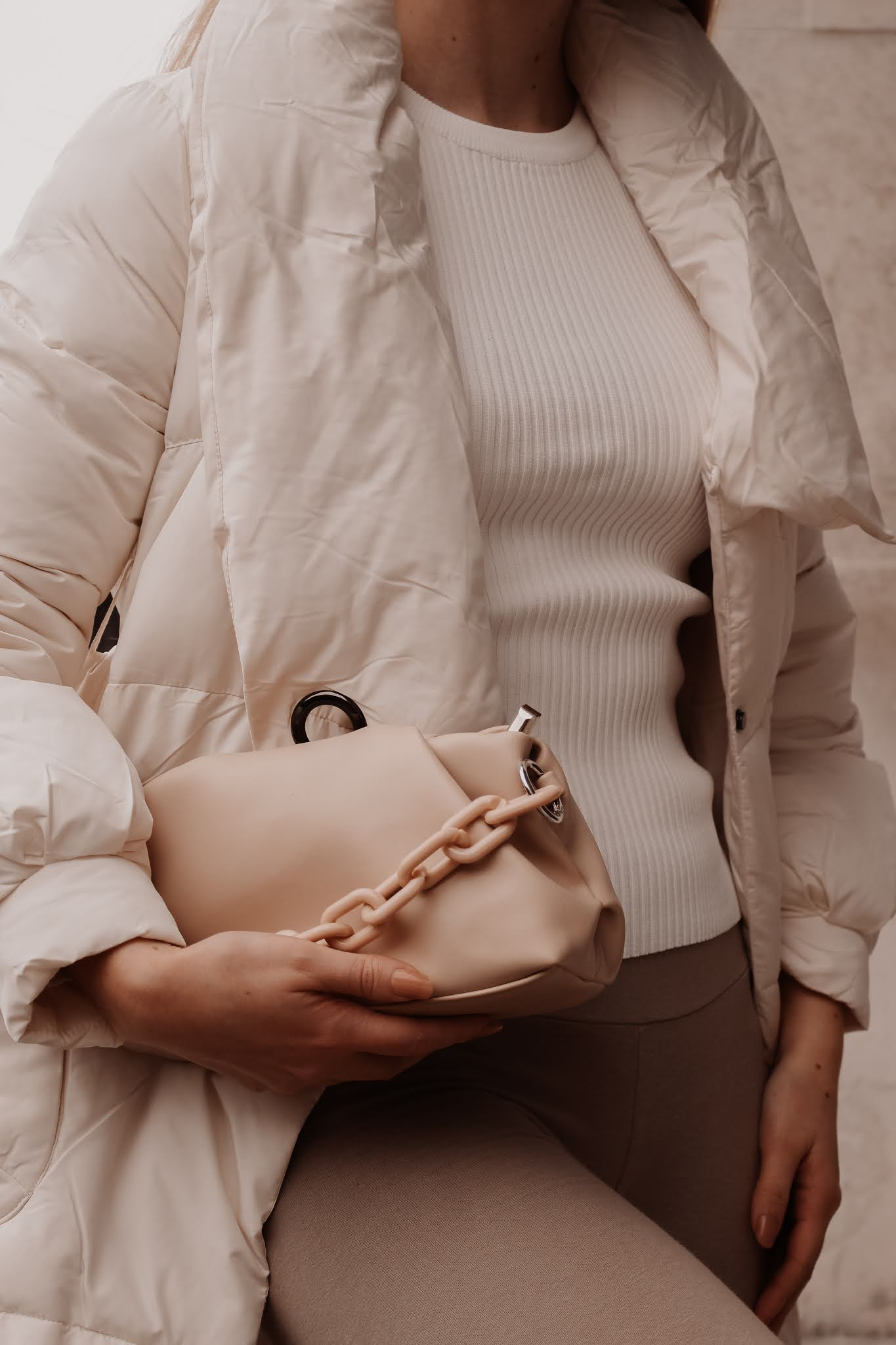 Coast nude shoulder bag