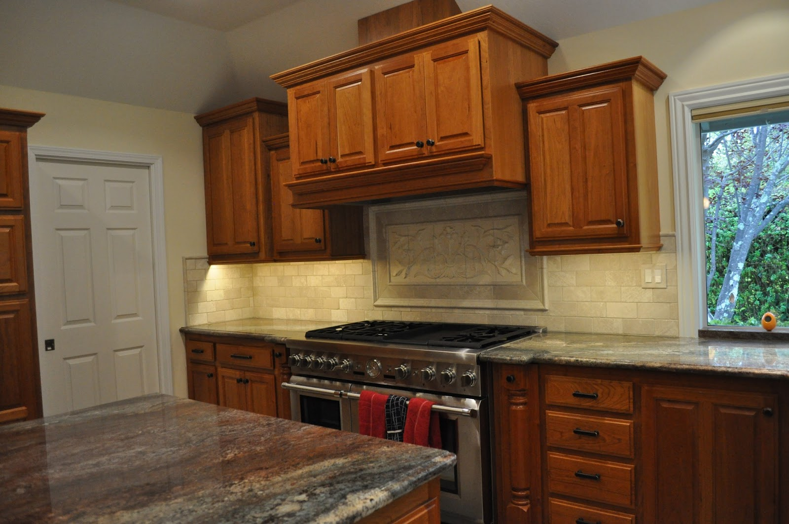Scott River Custom Cabinets Natural Cherry Cabinets